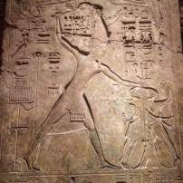 Merenptah smiting his enemies, Penn Museum, Philadelphia