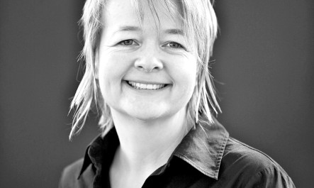 The writer Sarah Waters