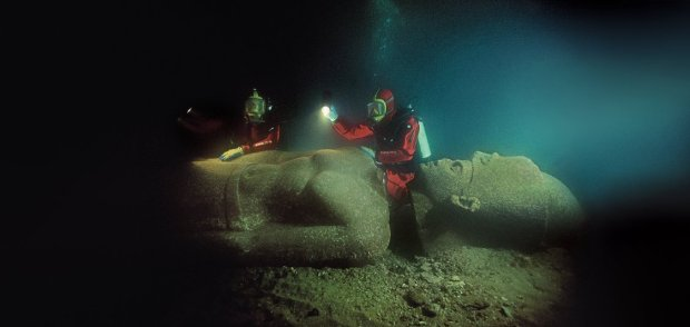 Sunken Cities: Underwater Archaeology