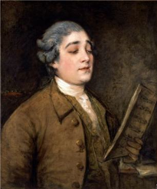 Thomas Gainsborough, Portrait of Giusto Ferdinando Tenducci, c. 1773, Barber Institute of Fine Arts, Birmingham