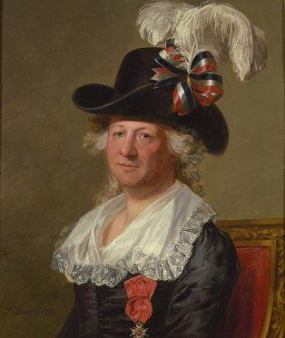 Thomas Stewart, after Jean Laurent Mosnier, Portrait of the Chevalier d'Eon, 1792, National Portrait Gallery, London