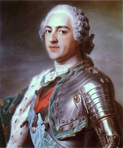 Maurice-Quentin de la Tour, Portrait of Louis XV, 1748