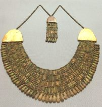 A 4,000 year-old Egyptian bead collar, Kunsthistorisches Museum, Vienna