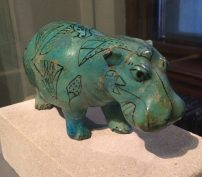 The faience hippo, Kunsthistorisches Museum, Vienna
