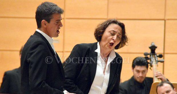 Philippe Jaroussky and Nathalie Stutzmann