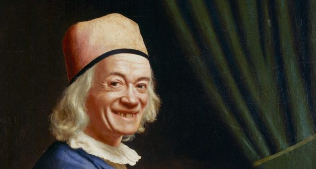 Liotard: Self Portrait Laughing