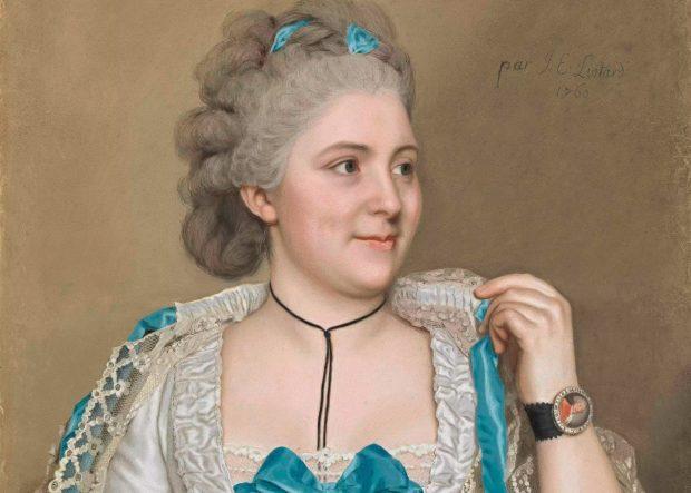 Liotard: Julie de Thellusson-Polyard