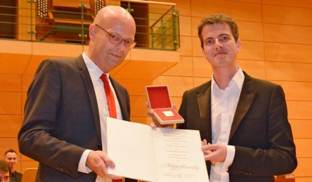 Philippe Jaroussky receives the Handel Prize