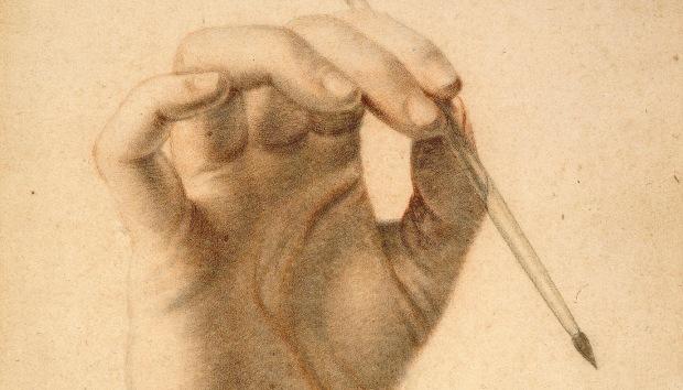 Dumonstier: The hand of Artemisia Gentileschi
