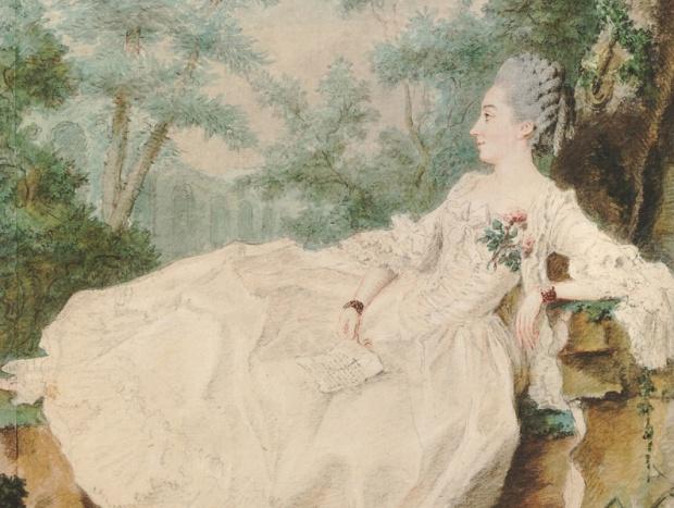 Carmontelle: Madame de Vermenoux