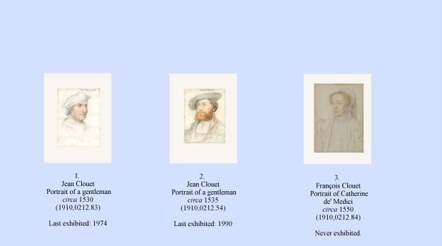 French Portrait Drawings: Concept Design
