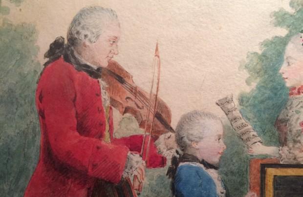 Carmontelle: Mozart family