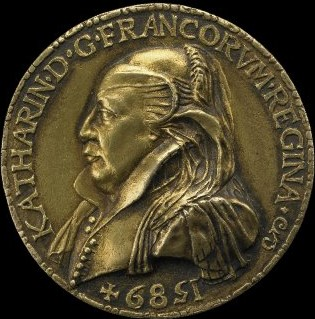 Medal of Catherine de' Medici, 1589, British Museum