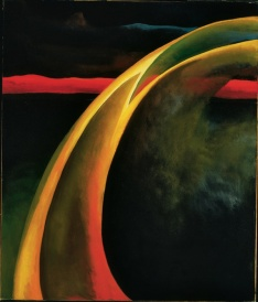 Georgia O'Keeffe, Red and Orange Streak, 1919, Philadelphia Museum of Art © Georgia O'Keeffe