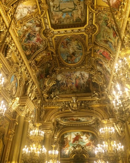 The Grand Foyer, Palais Garnier (the Opera), Paris