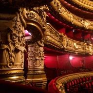 The auditorium, Palais Garnier (the Opera), Paris