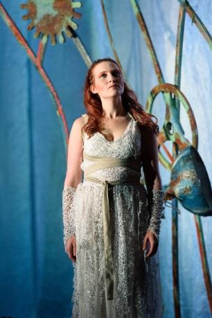 Calisto (Paula Sides) is raised among the stars © Jane Hobson