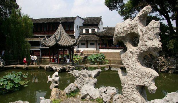 The Lion Forest Garden (Lion Grove Garden), Suzhou