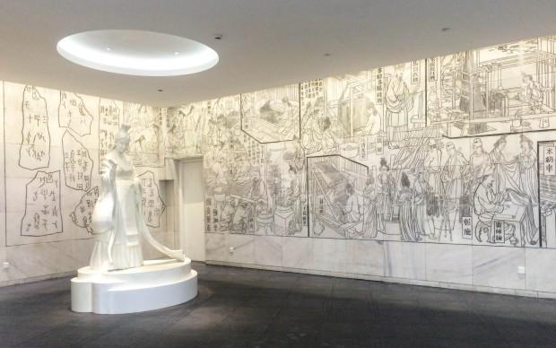 Suzhou Silk Museum: Foyer