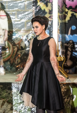 Ermione (Vlada Borovko) © Royal Opera House / Clive Barda