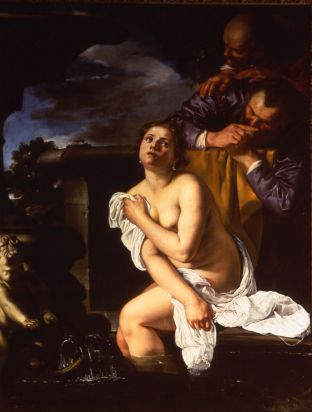 Artemisia Gentileschi, Susannah and the Elders, 1622, The Burghley House Collection