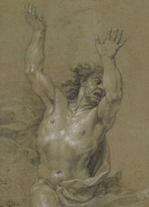 Attributed to Nicolas de Plattemontagne, The Angry Man, Musée des Beaux-Arts et d'Archéologie de Besançon