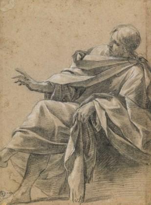 Simon Vouet, The Seated Christ, c.1632, Musée des Beaux-Arts et d'Archéologie de Besançon