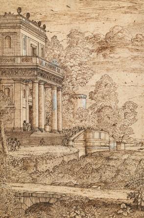 Claude Lorrain, The Palace of Staphylus, Musée des Beaux-Arts et d'Archéologie de Besançon