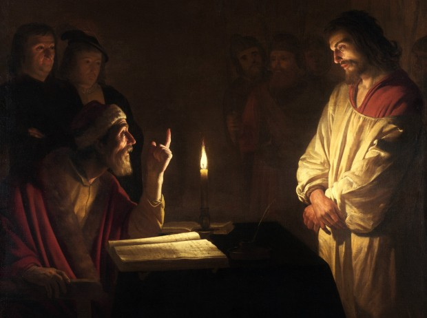 Honthorst: Christ before Caiaphas