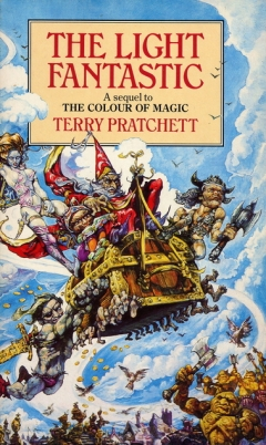 the light fantastic terry pratchett the idle woman - The Color Of Magic Book