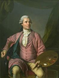 Joseph-Siffrèd Duplessis, Portrait of Joseph-Marie Vien, 1785, Musée du Louvre
