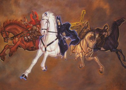 The Four Horsemen © Paul Kidby