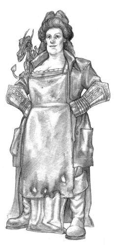 Lady Sybil Ramkin © Paul Kidby