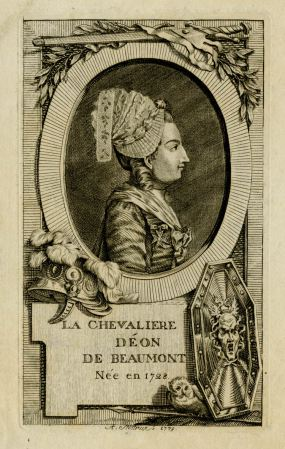 A. Stoettrup, Portrait of the Chevalier d'Eon, 1779