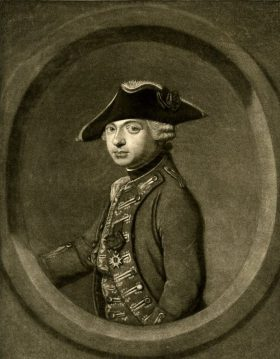 François Xavier Vispré, Portrait of the Chevalier d'Eon, 1764.