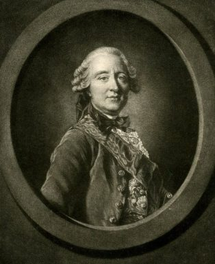 James Watson, after Louis-Michel van Loo, Portrait of the comte de Guerchy, 1766