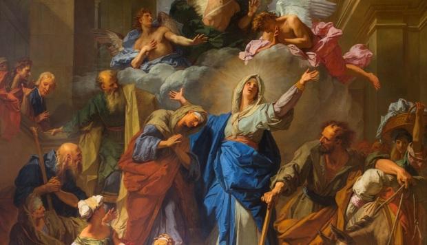 Jouvenet: The Magnificat (The Visitation)