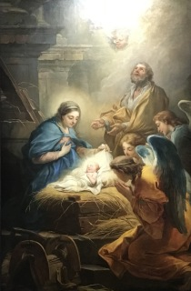 Carle Van Loo, The Adoration of the Angels, 1751, painted for the church of Saint-Suplice, now in Musée des Beaux-Arts, Brest (finished painting)