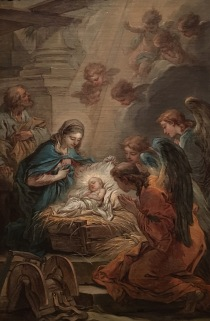 Carle Van Loo, The Adoration of the Angels, 1750-51, Musée de Picardie, Amiens (oil sketch; modello)