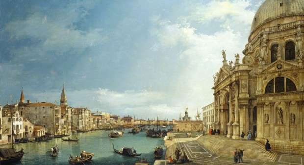 Canaletto: View of the Salute