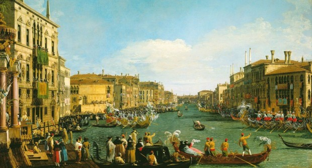 Canaletto: Regatta on the Grand Canal