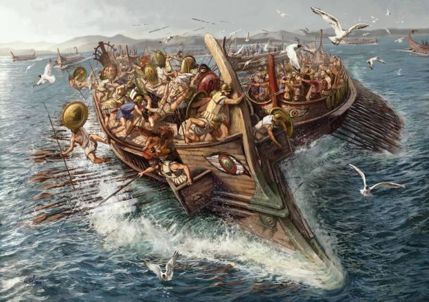 Salamis Ships