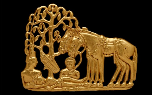 Scythian Funerary Scene