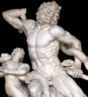Athenodorus, Agesander and Polydorus of Rhodes, Laocoon, 40-20 BC, Musei Vaticani, Rome (detail)