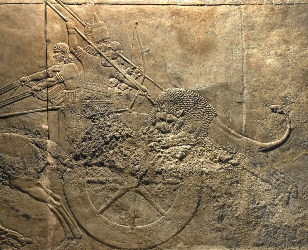 The Lion Hunt of Ashurbanipal