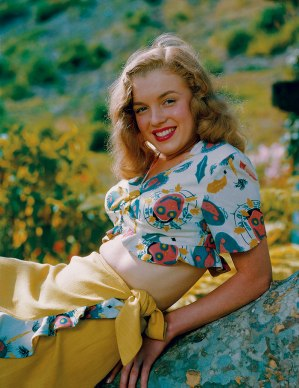 Norma Jeane Baker in 1946, photographed by Richard C Miller