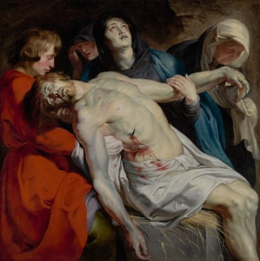 Peter Paul Rubens, The Entombment, c.1612, Getty Museum, Los Angeles