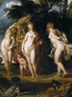 Peter Paul Rubens, The Judgement of Paris, c.1607, Museo del Prado, Madrid (detail)