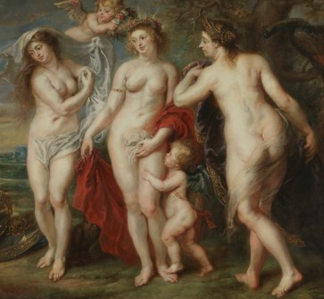 Peter Paul Rubens, The Judgement of Paris, c.1639, Museo del Prado, Madrid (detail)