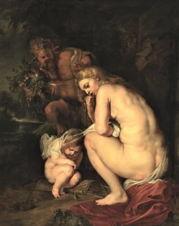 Peter Paul Rubens, Venus Frigida (Sine Cerere et Baccho friget Venus), 1614, Koninklijkl Museum voor Schone Kunsten, Antwerp (detail)